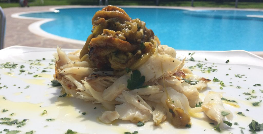 Il nostro baccalà viene spesso accompagnato nel nostro ristorante dai peperoni.
