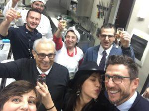Veglione di capodanno con lo staff dell'hotel ristorante dragonara