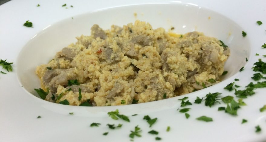 agnello cacio e ovo ricetta tradizionale abruzzese